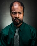 Rico Reid as Richard in Bureau of Missing Persons at Know Theatre - Photo by Daniel R. Winters