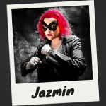 Meet Jazmin: A Crimefighter with a taste for the rough stuff.