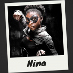 Meet Nina, a Crimefighter with a secret