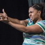 Know Theatre presents BLACKTOP SKY - Aziza Macklin as Ida - Photo by Daniel R. Winters Photography