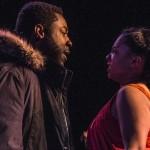 Know Theatre presents BLACKTOP SKY - Kameron Richardson as Klass - Aziza Macklin as Ida- Photo by Daniel R. Winters Photography