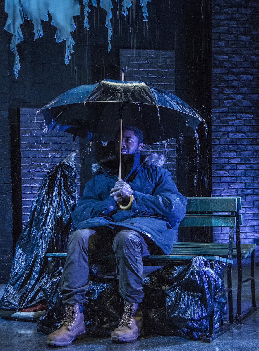 Know Theatre presents BLACKTOP SKY - Kameron Richardson as Klass - Photo by Daniel R. Winters Photography