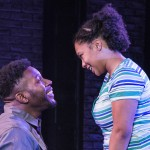 Know Theatre presents BLACKTOP SKY -Landon Horton as Wynn - Aziza Macklin as Ida- Photo by Daniel R. Winters Photography