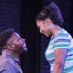 Know Theatre presents BLACKTOP SKY -Landon Horton as Wynn - Aziza Macklin as Ida- Photo by Daniel R. Winters Photography